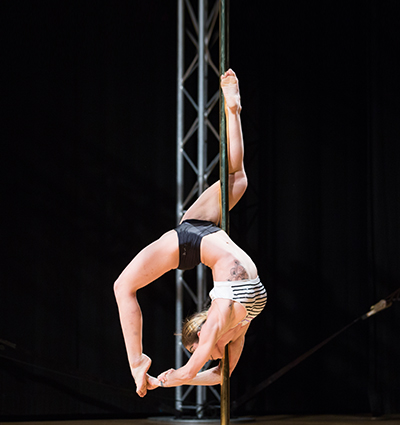 Taller de Pole Dance iniciación